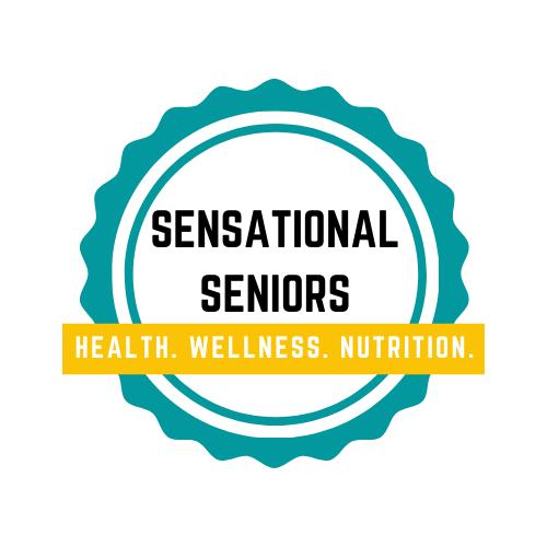 Logo for Sensational Seniors Program (Health, wellness and Nutrition education).